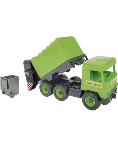 """Авто """"Middle truck"""" сміттєвоз (св. зелений) в коробці"""