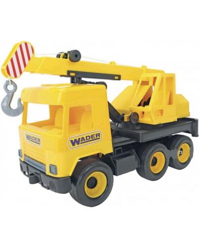"""Авто """"Middle truck"""" кран (жовтий) в коробці"""