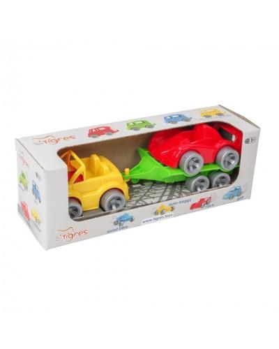 """Набір авто """"Kid cars Sport"""" 3 ел. (кабріолет + гонка)"""