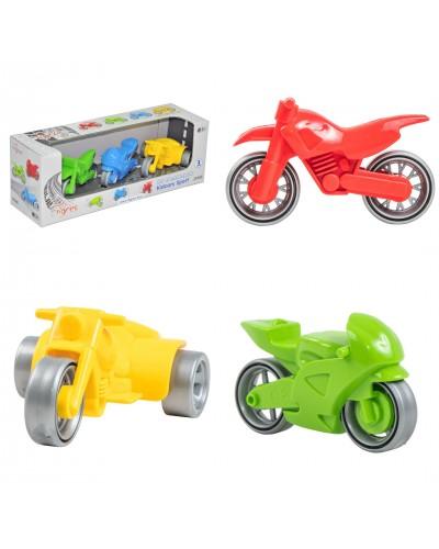 """Набір мотоциклів """"Kid cars Sport"""" 3 шт."""