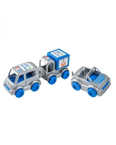 "Набір авто ""Kid cars"" поліцейський"