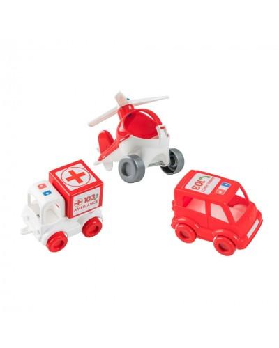 """Набір авто """"Kid cars"""" швидка"""