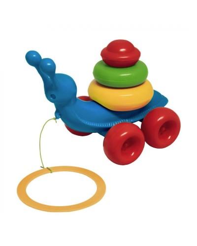 """Іграшка розвиваюча 39770 """"Равлик"""" 8 ел., Tigres"""