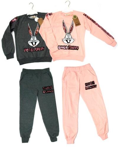 Костюм спортивн. девочка (4-8 лет)