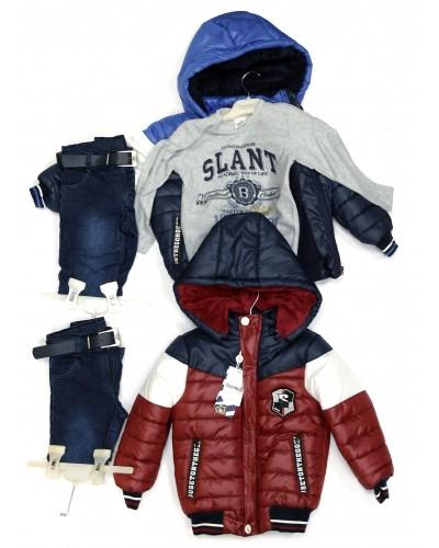 Куртка + штаны мальчик (92-110см)
