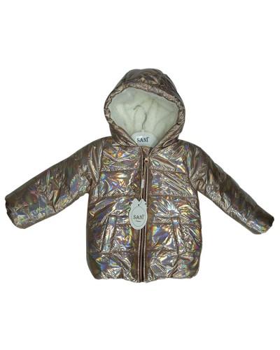 Куртка девочка,нат.мех(2-5 лет)