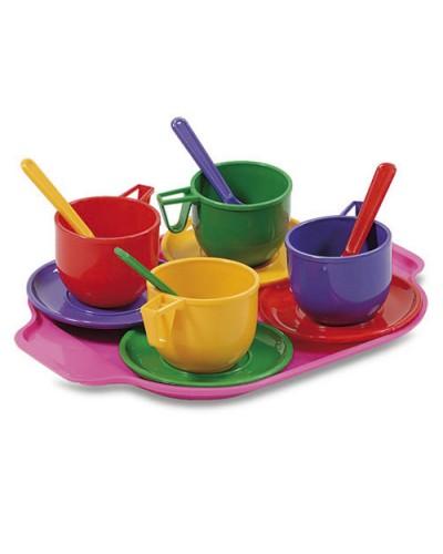 Набор  посуды с подносом 13 ел, 293