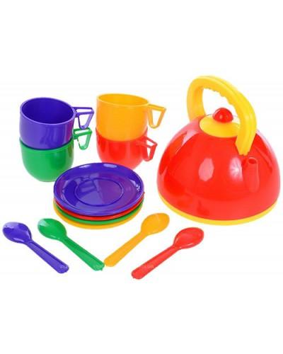 Набор  посуды с чайником 13 ел, 279