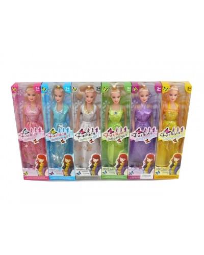 """Кукла типа """"Барби"""" T2068B-1/-6 (890026)  6 видов, в кор. 8*5*30см"""