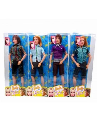 "Кукла типа ""Кен"" 8655B-B 4 вида, мальчик, шарнир., в кор.32*12.5*5см"