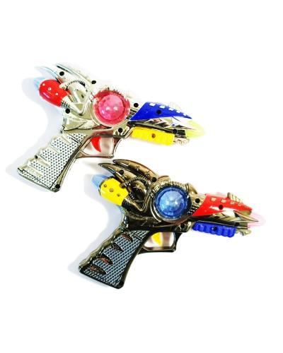 Пистолет батар TY6088B свет, звук, 2 вида, 6 шт в коробке