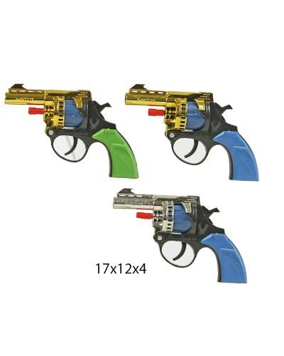 Пистолет под пистоны B2 в пакете 17*12*4см