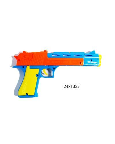 Пистолет с пороллон снар  6699-32A в компл с мишенью, в пакете 24*13*3 см