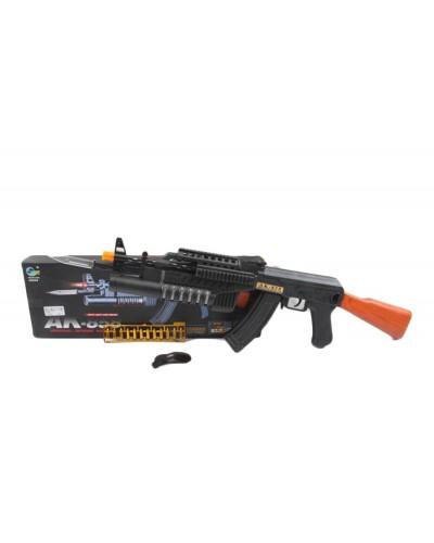 Автомат  AK858  штык-нож, в коробке 47*15*4см