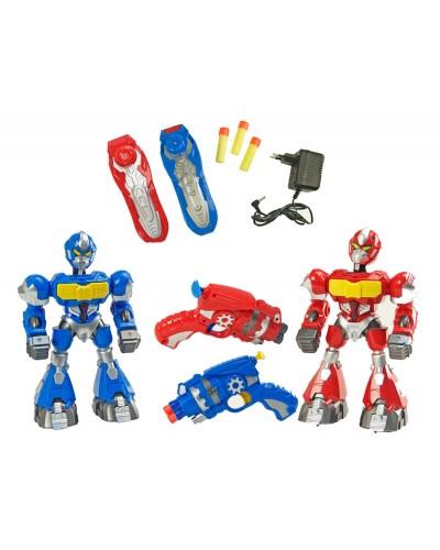Робот 80829  2 цвета, батар., в кор. 43*13,5*36см