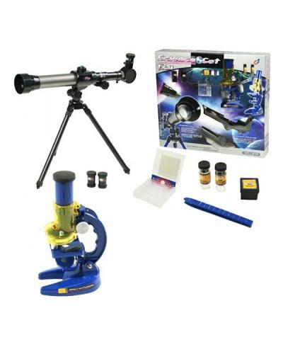 Телескоп+микроскоп C2112 (1111965) в коробке 44*40*9см