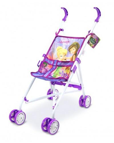 "Коляска ""Disney - Fairies"" D1001F метал.летняя, 8 колес, крутящиеся, 53*25*47см"