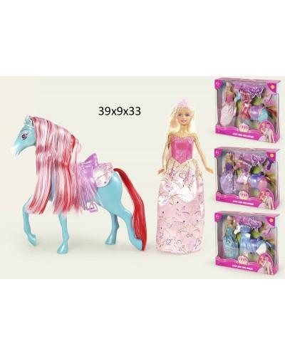 """Кукла """"Defa Lucy"""" 8209 с лошадкой, в кор."""