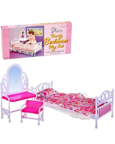 """Мебель """"Gloria"""" 9314  для спальни, в кор. 32*17*7см"""