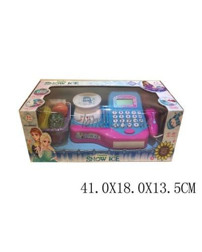 Кассовый аппарат 66065BX(1602895) св,зв,сканер,кальк,корзина с прод-ми, в кор.41*18,5*13,5см