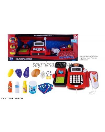 Кассовый аппарат 8088B свет,звук,весы,кас/лента,деньги,скан,корз.прод, в кор.43*16*17см