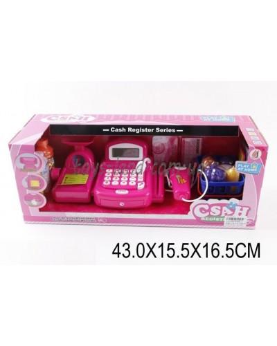 Кассовый аппарат 8088B-2(1451589)батар, свет/зв.,кальк.,скан,ве,продук, в кор.43*15,5*6,5с
