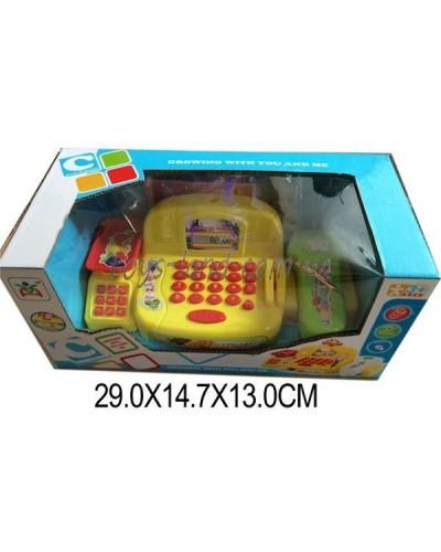Кассовый аппарат LS820G8-1 (1339158) батар,свет-звук,сканер, калькулятор в кор. 29*14,7*13см