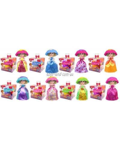 """Кукла """"Cupcake"""" 2125 8 видов,трансформер,запах,с аксесс,кукла 14 см, в кор.10*10*10см"""