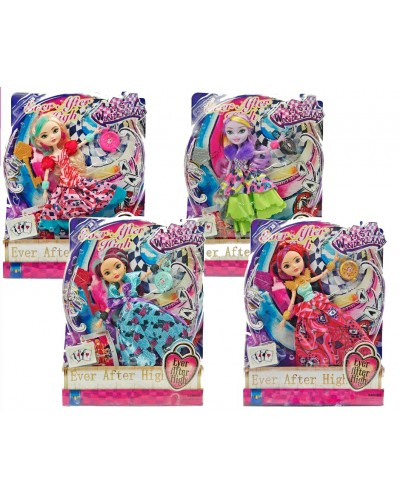 "Кукла ""Ever After High""Waytoo Wonderland"" 2117 (1459202) (48шт/2)4 вида,акс,на шарн,в кор.25*7*32см"