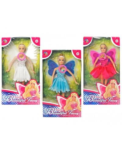 "Кукла ""Ангел""Фея"" BLD081 (72шт/3) 3 вида, свет, в кор.18*6*33см"