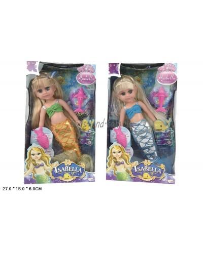 """Кукла """"Русалочка"""" BR303 (96шт/2) 2 вида, с аксесс., в кор.27*15*6см"""