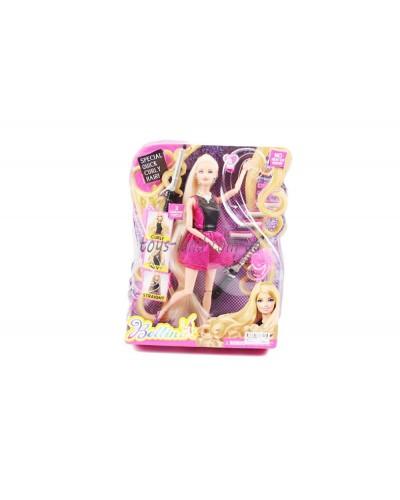 """Кукла типа """"Барби""""Парикмахер"""" 66779 (36шт/2) плойки,бигуди,аксесс, в кор.25*6*34см"""