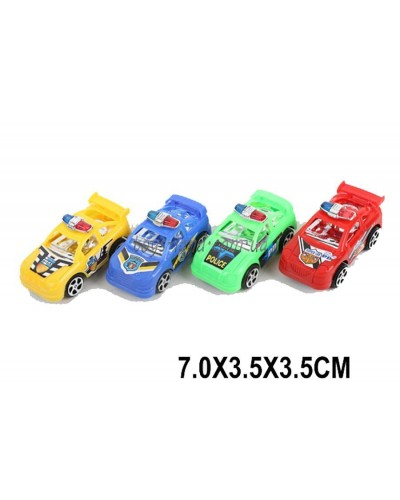 Машина инерц. 3329 (1580722) микс, р-р маш.7*3,5*3,5см, в пакете