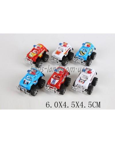 Машина инерц. 697A-6P (1549727) микс, в пакете 6*4,5*4,5см