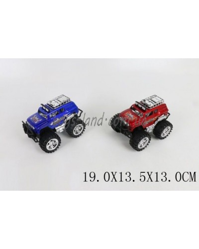 Машина инерц. 9686 (1568410) 2 цвета, в пакете 19*13,5*13см