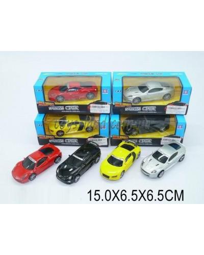 Машина метал. SD896-1 (1070651) 1:43, в коробке 15*6,5*6,5см