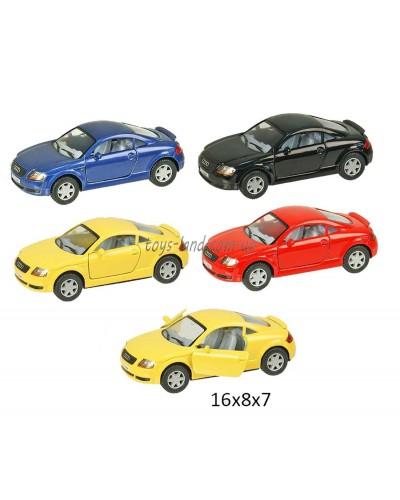 "Машина металл ""KINSMART"" KT5016W ""Audi TT Coupe"", в коробке 16*8*7см"