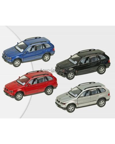 """Машина металл """"KINSMART"""" KT5020W  """"BMW X5"""", в коробке 16*8*7,5см"""