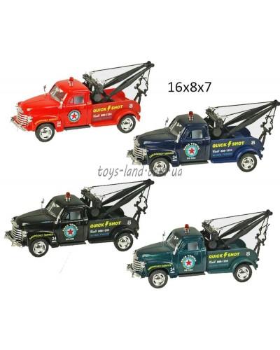 """Машина металл """"KINSMART"""" KT5033W  """"Chevrolet 3100 Wrecker 1953"""", в коробке 16*8*7см"""