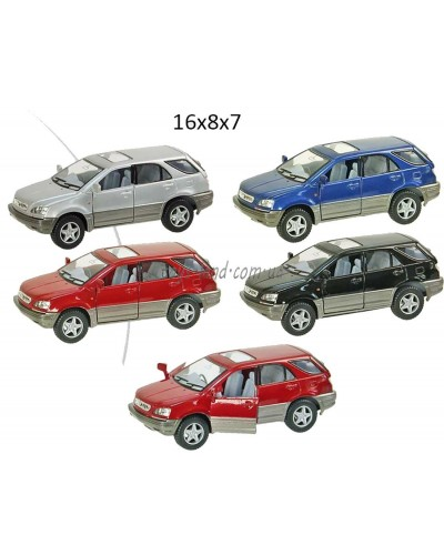 """Машина металл """"KINSMART"""" KT5040W  """"Lexus RX300"""", в коробке 16*8*7см"""