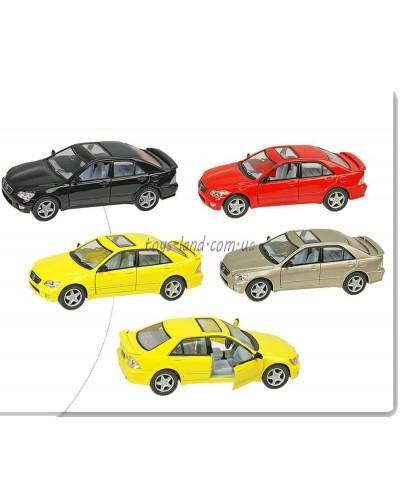 """Машина металл """"KINSMART"""" KT5046W  """"Lexus IS300"""", в коробке 16*8*7,5см"""