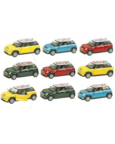 "Машина металл ""KINSMART"" KT5059WF Mini Cooper S в коробке 16*8*7см"