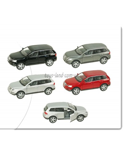 "Машина металл ""KINSMART"" KT5078W ""Volkswagen Touareg (2003)"" в кор. 16*8,5*7,5см"