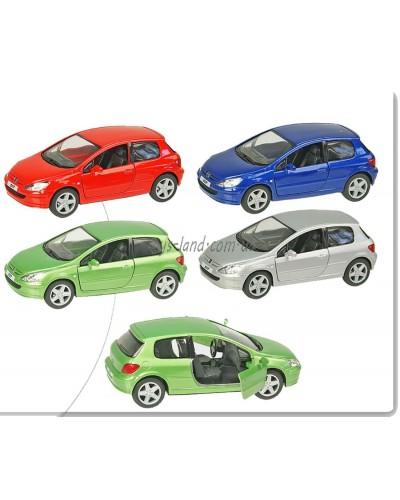 "Машина металл ""KINSMART"" KT5079W  ""Peugeot 307 XSI"", в коробке 16*8*7,5см"