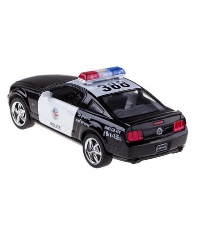 "Машина металл ""KINSMART"" KT5091WP ""Полиция"" Ford Mustang GT в коробке 16*8*7см"