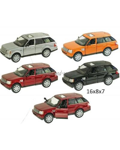"""Машина металл """"KINSMART"""" KT5312W """"Range Rover"""", в коробке 16*8*7см"""