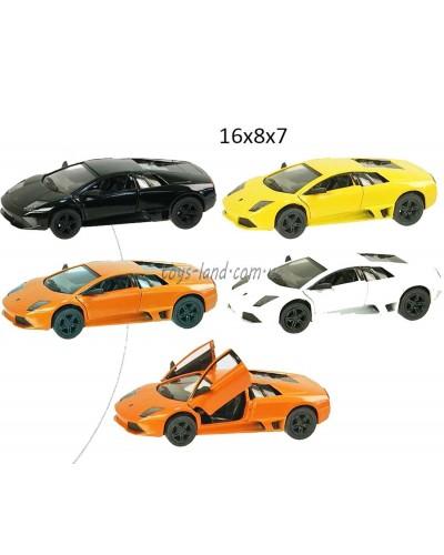 "Машина металл ""KINSMART"" KT5317W ""Lamborghini LP640"", в коробке 16*8*7см"