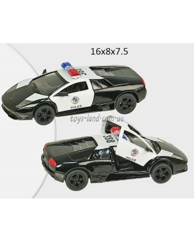 "Машина металл ""KINSMART"" KT5317WP  ""Lamborghini Murcielago LP640"", в коробке 16*8*7,5см"