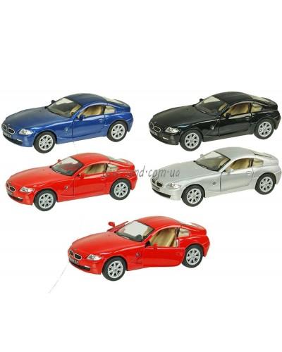 "Машина металл ""KINSMART"" KT5318W ""BMW Z4 Coupe"", в коробке 16*8*7см"