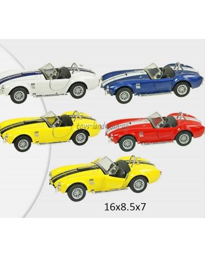 "Машина металл ""KINSMART"" KT5322W ""1965 Shelby Cobra 427"" в кор. 16*8,5*7,5см"